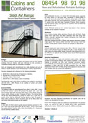 Steel Anti Vandal Cabins