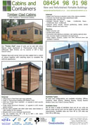 Timber Clad Cabins