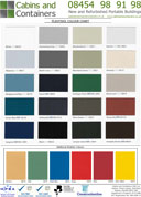 Plastisol Colour Chart