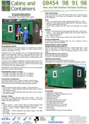 Flat Pack Office Cabins