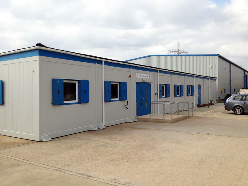 steel cabins and modular buildings